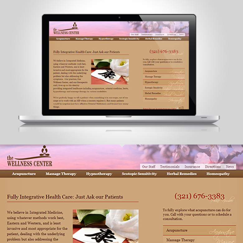 Tritt Wellness Center: Website Design