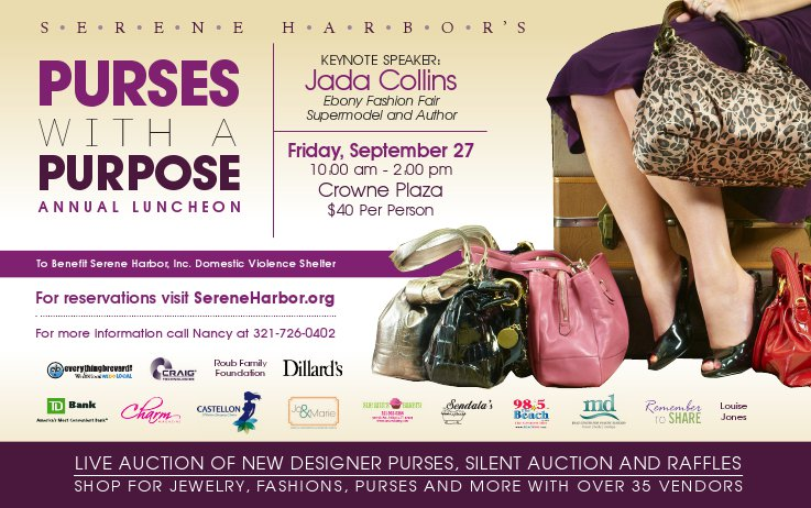 Serene Harbor Presents Purses With a Purpose September 27, 2013